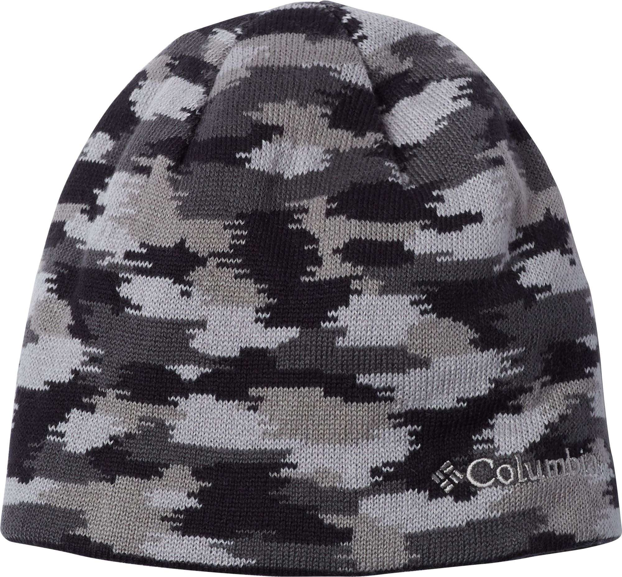 Columbia Youth/Toddler Urbanization Mix Beanie, Size: L/XL, Black/Slate Grey Camo thumbnail