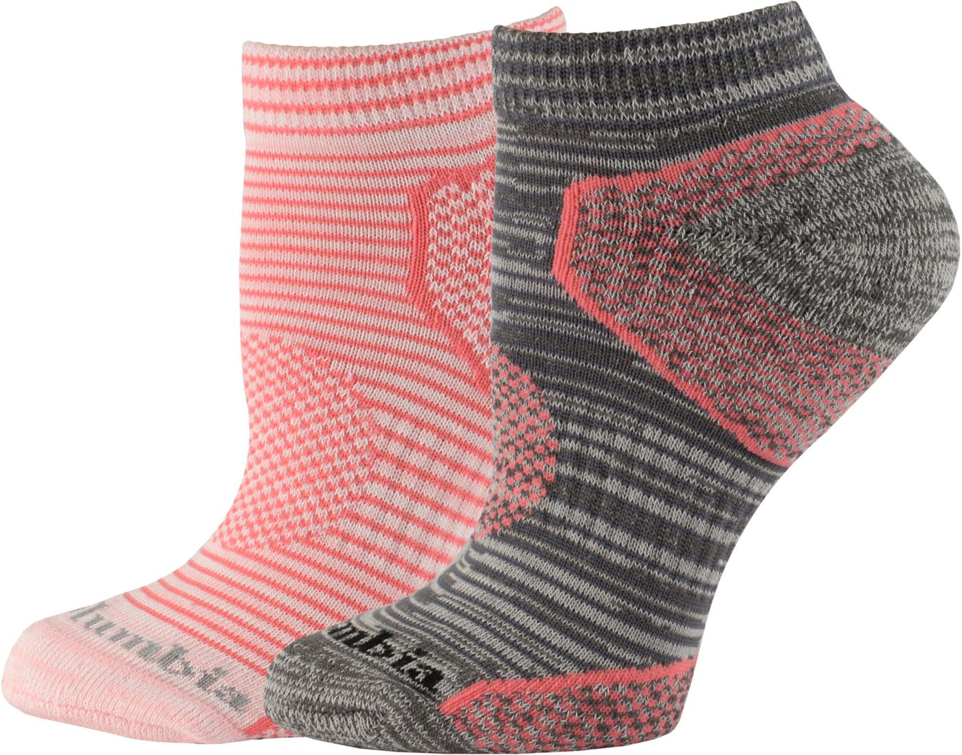 Columbia Walking Low Cut Socks 2 Pack