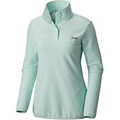Columbia Women's PFG Harborside Overlay Fleece Pullover