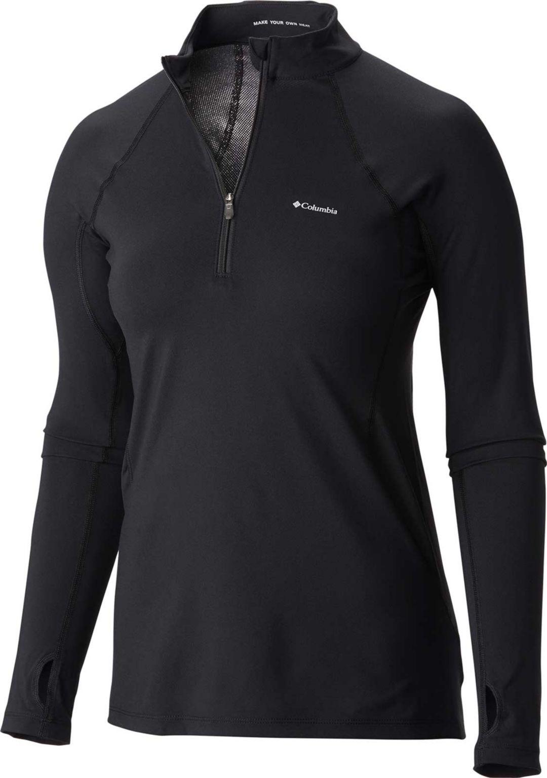 770c50b71 Columbia Women's Midweight Stretch Long Sleeve Half Zip Shirt