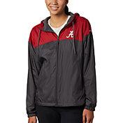 Columbia Women's Alabama Crimson Tide Red/Black CLG Flash Forward Lined Jacket