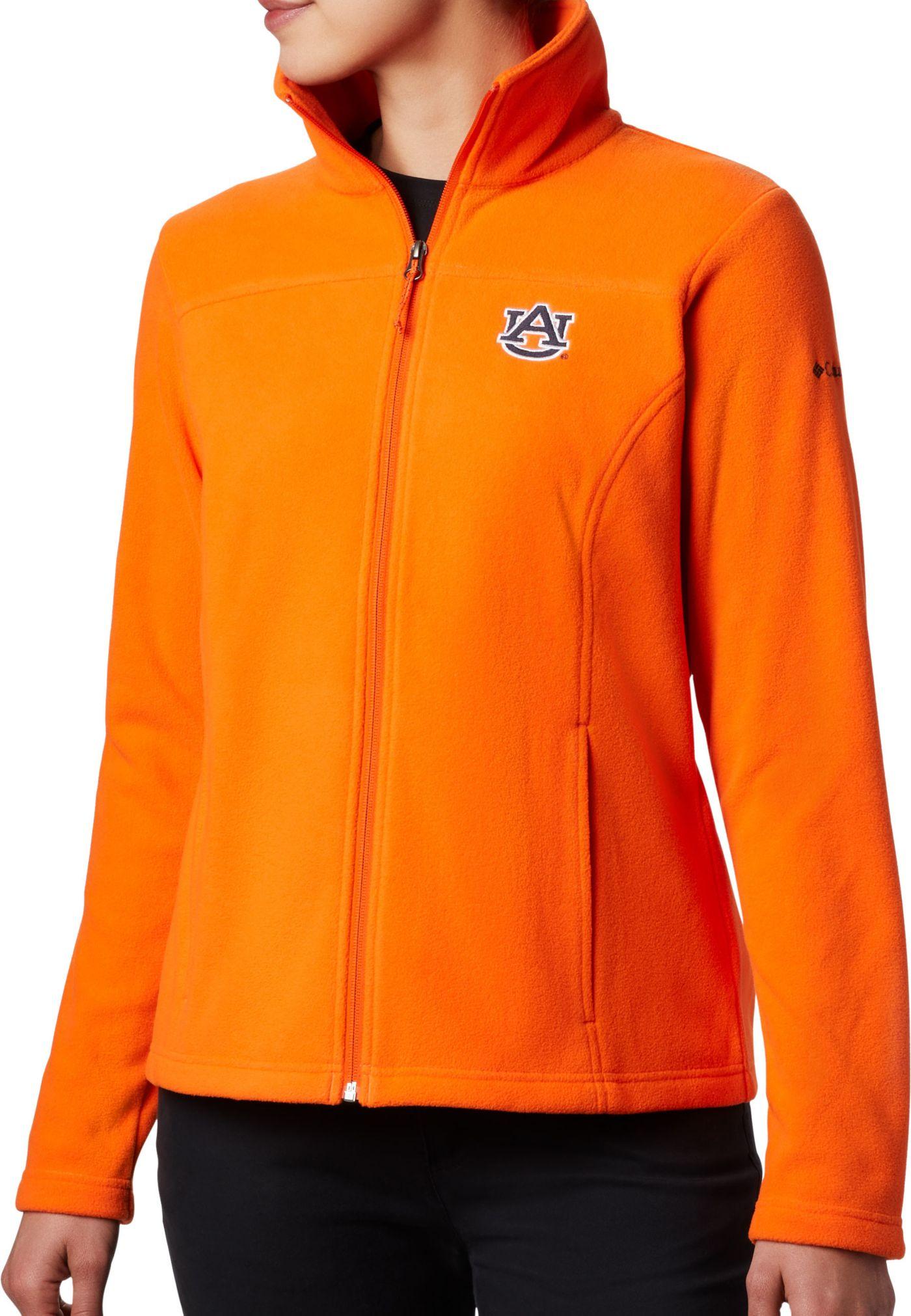 Columbia Women's Auburn Tigers Orange Give & Go Full-Zip Jacket