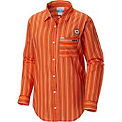 Columbia Women's Auburn Tigers Orange Sun Drifter Long Sleeve Shirt