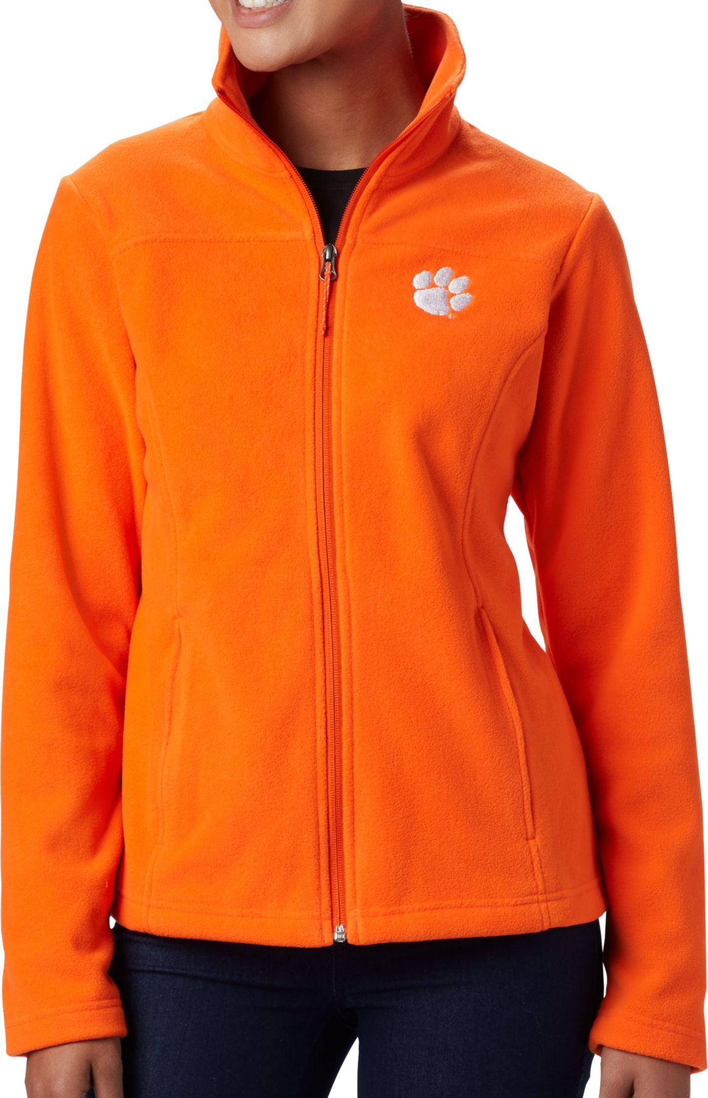 Columbia Women's Clemson Tigers Orange Give & Go Full-Zip Jacket