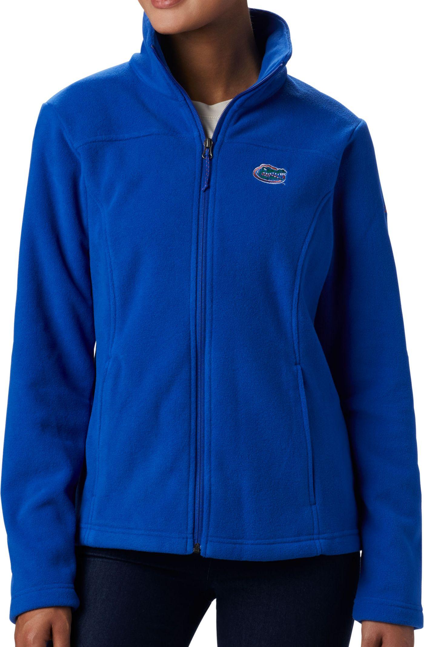 Columbia Women's Florida Gators Blue Give & Go Full-Zip Jacket
