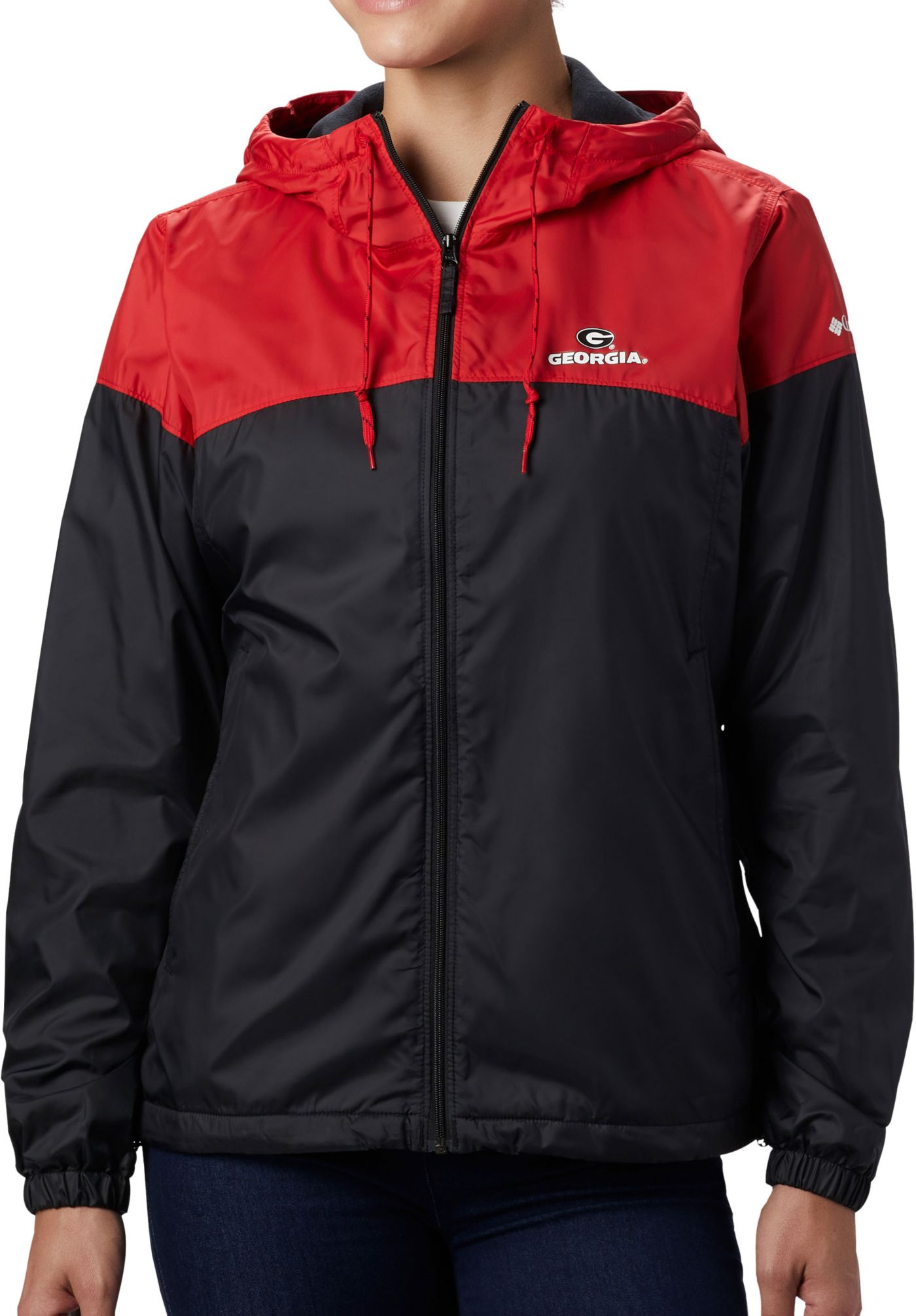 Columbia Women's Georgia Bulldogs Red/Black CLG Flash Forward Lined Jacket