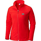 Columbia Women's Georgia Bulldogs Red Give and Go Full-Zip Jacket