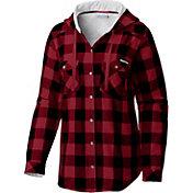 Columbia Women's Oklahoma Sooners Crimson Times Two Long Sleeve Shirt