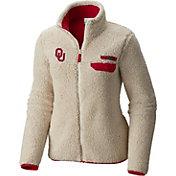 Columbia Women's Oklahoma Sooners Mountainside Full-Zip Cream Jacket