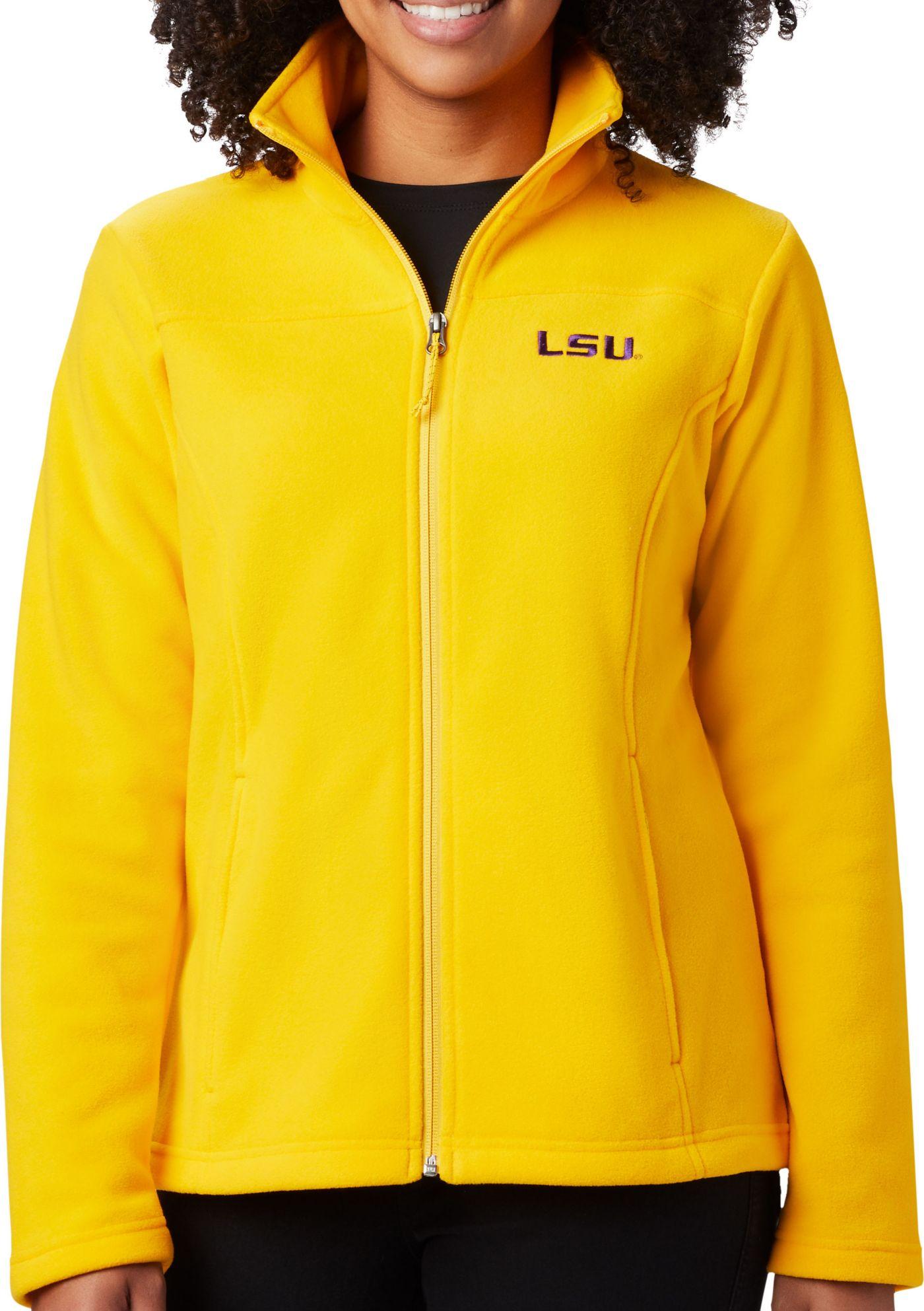 Columbia Women's LSU Tigers Gold Give & Go Full-Zip Jacket
