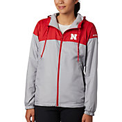 Columbia Women's Nebraska Cornhuskers Scarlet/Grey CLG Flash Forward Lined Jacket