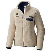 Columbia Women's Notre Dame Fighting Irish Mountainside Full-Zip White Jacket