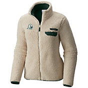 Columbia Women's Oregon Ducks Mountainside Full-Zip White Jacket
