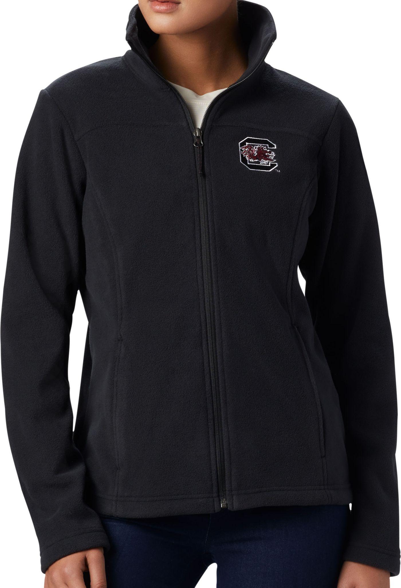 Columbia Women's South Carolina Gamecocks Give & Go Full-Zip Black Jacket