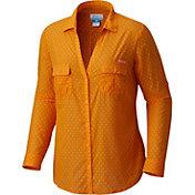Columbia Women's Tennessee Volunteers Tennessee Orange/White Sun Drifter Long Sleeve Shirt