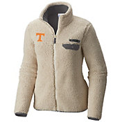 Columbia Women's Tennessee Volunteers Mountainside Full-Zip White Jacket