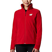 Columbia Women's Wisconsin Badgers Red Give & Go Full-Zip Jacket