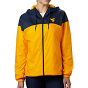 Columbia Women's West Virginia Mountaineers Blue/Gold CLG Flash Forward Lined Jacket