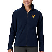 Columbia Women's West Virginia Mountaineers Blue Give & Go Full-Zip Jacket