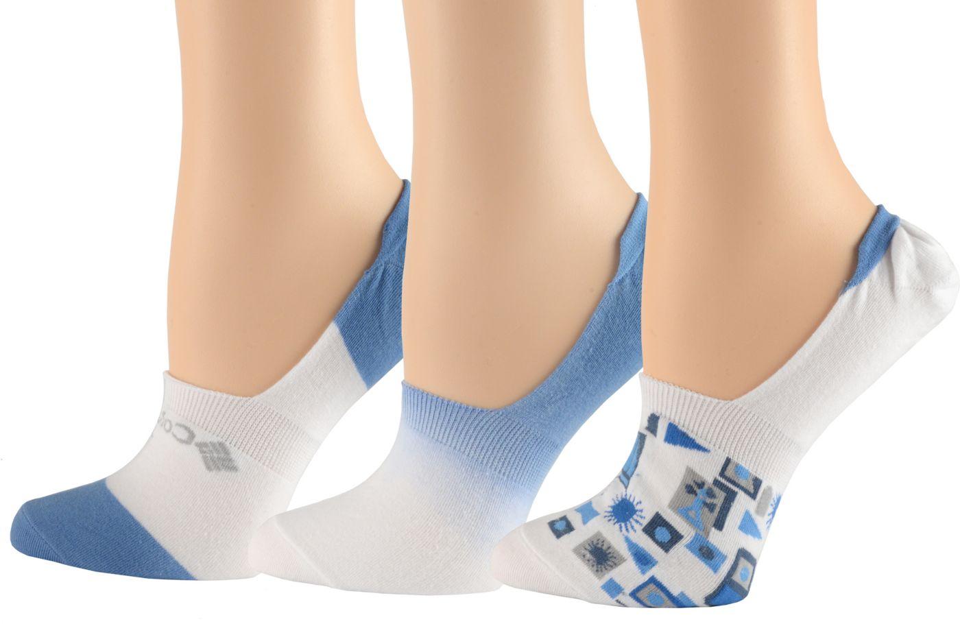 Columbia Women's PFG Dip Dye Liner Socks 3 Pack