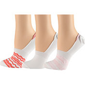 Columbia Women's PFG Water Stripe Liner Socks 3 Pack