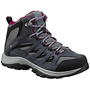 Columbia Women's Crestwood Mid Waterproof Hiking Boots
