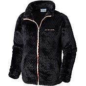 Columbia Girls' Fluffy Fleece Full Zip Jacket