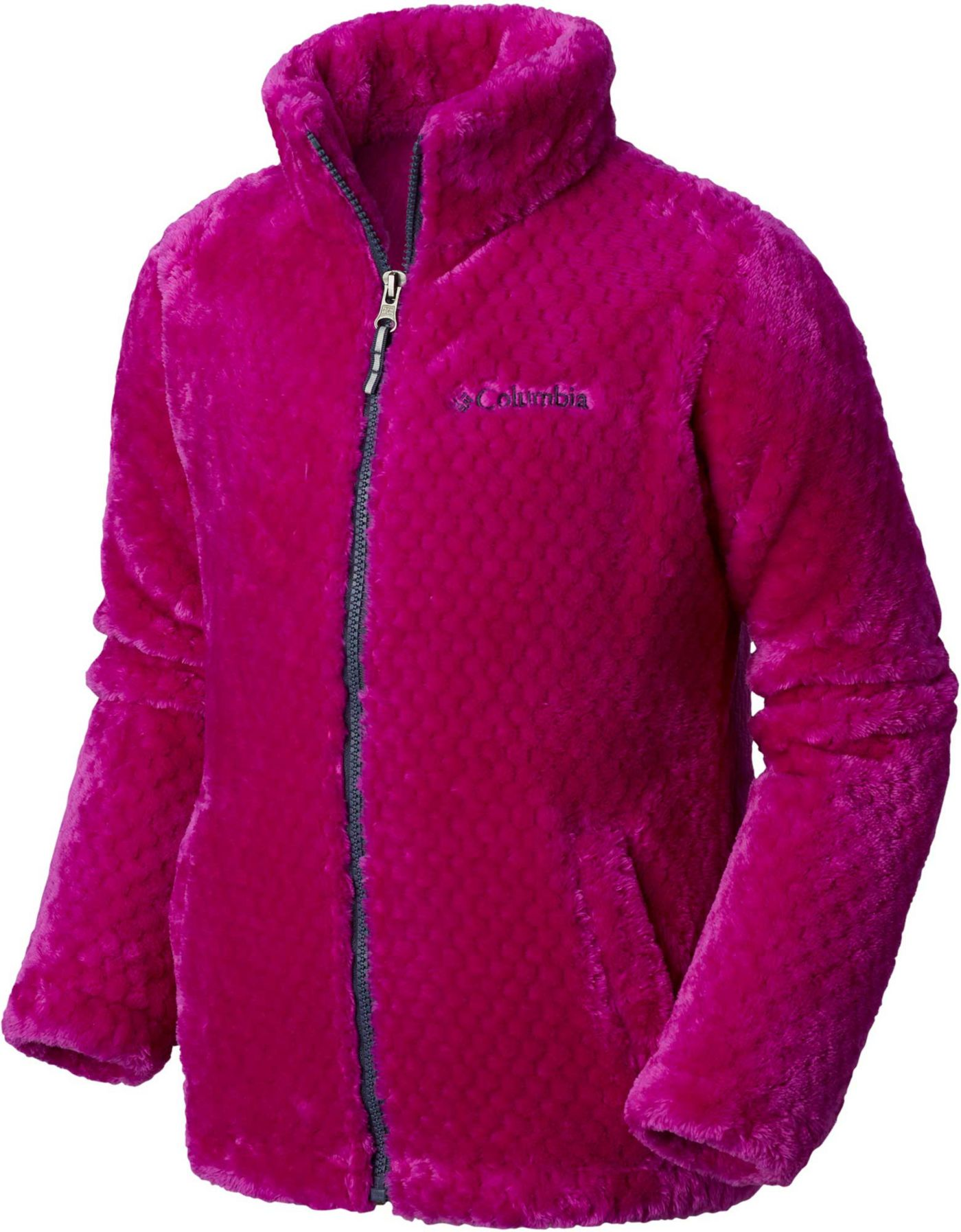 Columbia Girls' Fluffy Fleece Full Zip Jacket