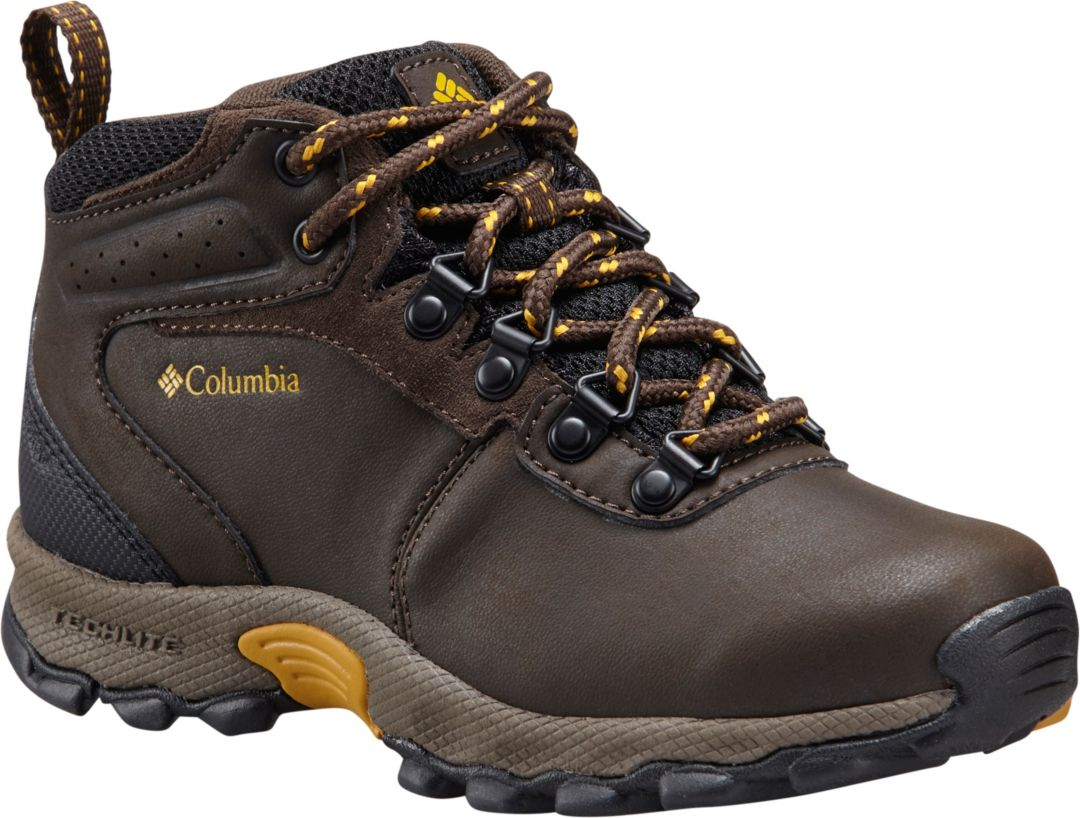 46eb92d3059 Columbia Kids' Newton Ridge Waterproof Hiking Boots
