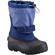 Columbia Kids' Powderbug Plus II Waterproof Winter Boots