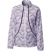 Cutter & Buck Women's Annika Cloud Breaker Full-Zip Golf Jacket