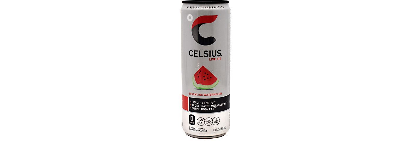 Celsius Fitness Drink Sparkling Watermelon 12-Pack