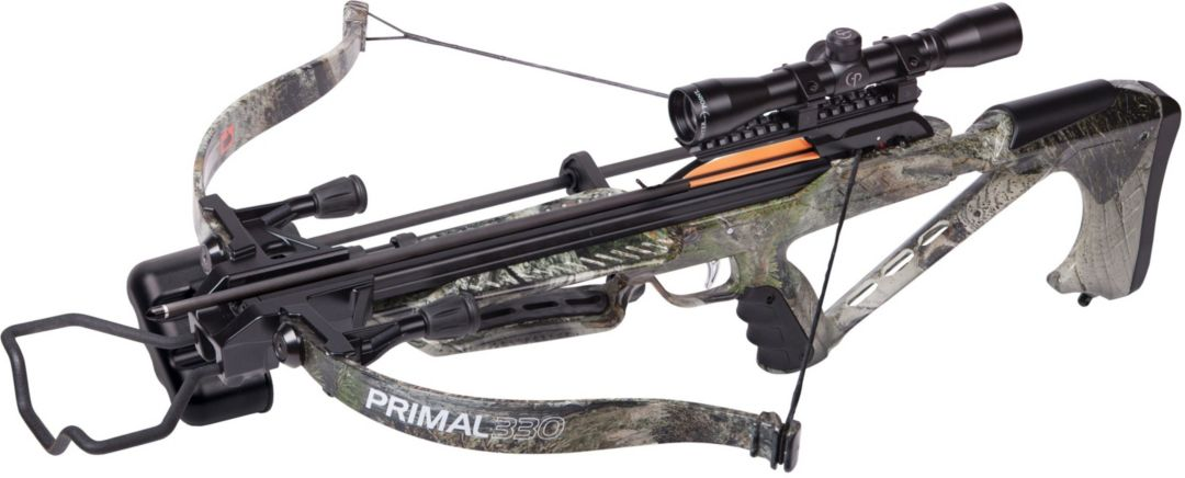 CenterPoint Primal 330 Recurve Crossbow Package