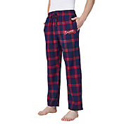 Concepts Sport Men's Atlanta Braves Plaid Flannel Pajama Pants