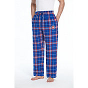 Concepts Sport Men's Chicago Cubs Plaid Flannel Pajama Pants