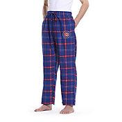 Concepts Sport Men's Chicago Cubs Plaid Flannel Pajama Pants