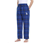 Concepts Sport Men's Los Angeles Dodgers Plaid Flannel Pajama Pants