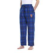 Concepts Sport Men's New York Mets Plaid Flannel Pajama Pants
