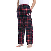 Concepts Sport Men's Washington Nationals Plaid Flannel Pajama Pants