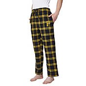 Concepts Sport Men's Pittsburgh Pirates Plaid Flannel Pajama Pants