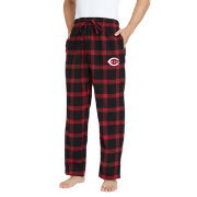 Concepts Sport Men's Cincinnati Reds Plaid Flannel Pajama Pants