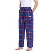 Concepts Sport Men's Texas Rangers Plaid Flannel Pajama Pants