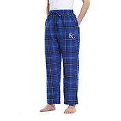 Concepts Sport Men's Kansas City Royals Plaid Flannel Pajama Pants