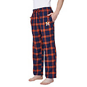 Concepts Sport Men's Houston Astros Plaid Flannel Pajama Pants