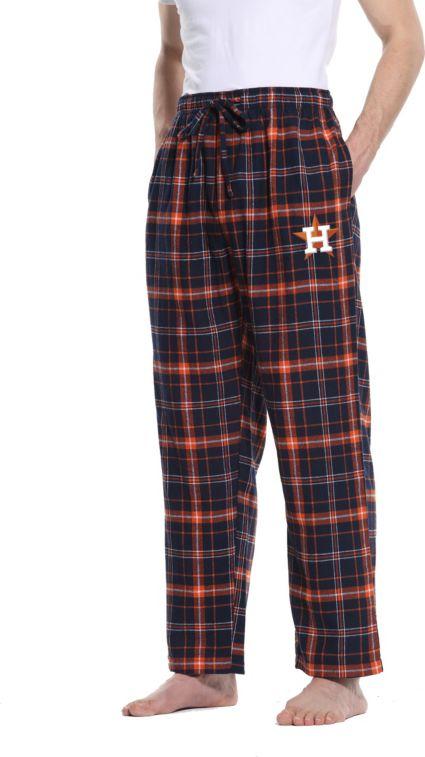 42f56b489 Concepts Sport Men s Houston Astros Plaid Flannel Pajama Pants ...