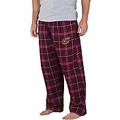 Concepts Sport Men's Cleveland Cavaliers Plaid Flannel Pajama Pants