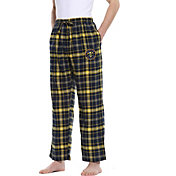 Concepts Sport Men's Denver Nuggets Plaid Flannel Pajama Pants