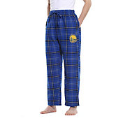 Concepts Sport Men's Golden State Warriors Plaid Flannel Pajama Pants