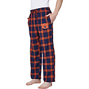 Concepts Sport Men's Auburn Tigers Blue/Orange Homestretch Sleep Pants