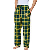 Concepts Sport Men's Baylor Bears Gold/Green Homestretch Sleep Pants